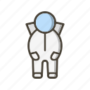 astronaut, astronomy, science, space, space suit icon