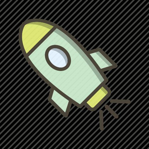 Rocket, satellite, launch icon - Download on Iconfinder