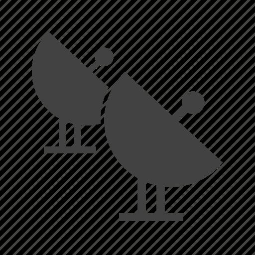 communication, digital, dish, satellite, sky, technology, wireless icon