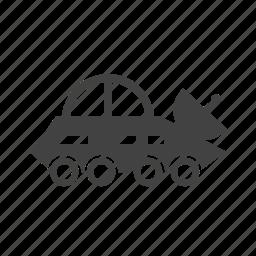 broadcast, broadcasting, car, news, satellite, vehicle icon
