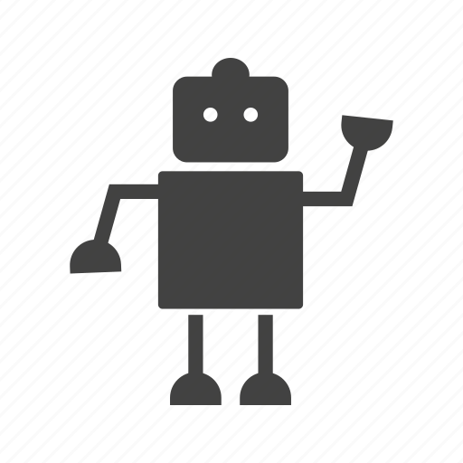 face, future, head, model, robot, robotic icon