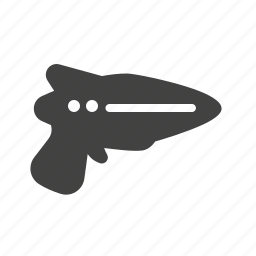gun, laser, ray, science, space, technology, weapon icon