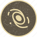 astronomy, galaxy, system icon
