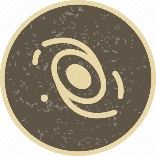 astronomy, galaxy, system icon