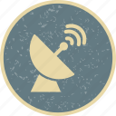 antenna, radar, satellite, space antenna icon