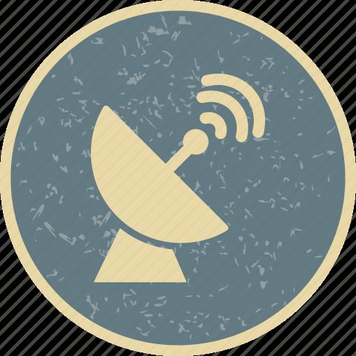 dish, radar, satellite, signal icon