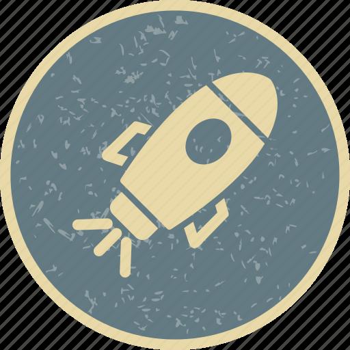 rocket, satellite, spacecraft, spaceship icon