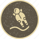 astronaut, astronomy, astronout landing, cosmonaut, space, spaceman icon