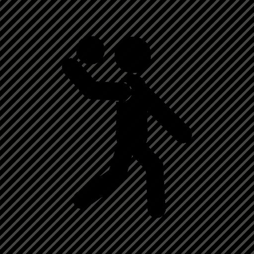 athlete, human, sport, training, volleyball icon