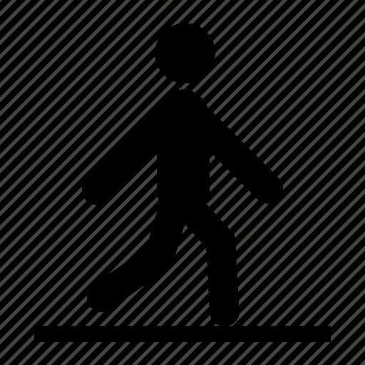 athlete, go, human, sport, walking icon