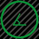 angle, geometry, measure icon