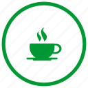 coffee, cup, drink, rest, tea icon