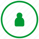guard, login, user icon