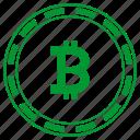 atm, b, bitcoin, coin, money, round, value icon
