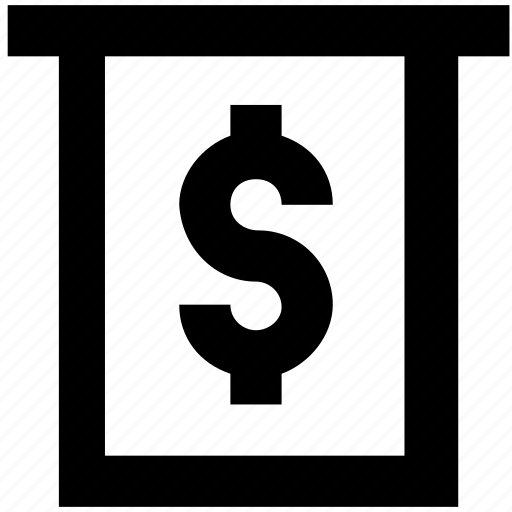 banking, dollar, finance, transaction icon