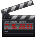 clip, film, movie, timestamp icon