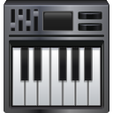 keyboard, piano icon