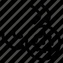attachment, settings icon