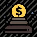 charity, donation, money