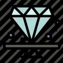 diamond, jewel, premium, present