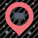 location, map, pin, sticky