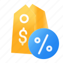 discount, e-commerce, label, percent, price, shopping, tag