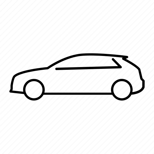 audi a3, automobile, car, road, transportation, vehicle icon
