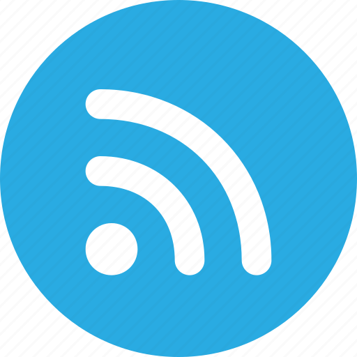 channel, content, feed, news, rss, signsymbol icon