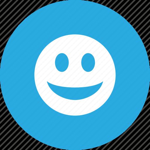 emoticon, face, happy, smile, smiley, social icon