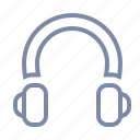 audio, headphones, headset, listen, music, stereo icon