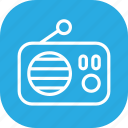 broadcast, fm, live, music, radio, station icon