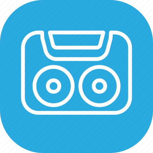 Audio, cassette, music, record, sound, tape icon - Download on Iconfinder