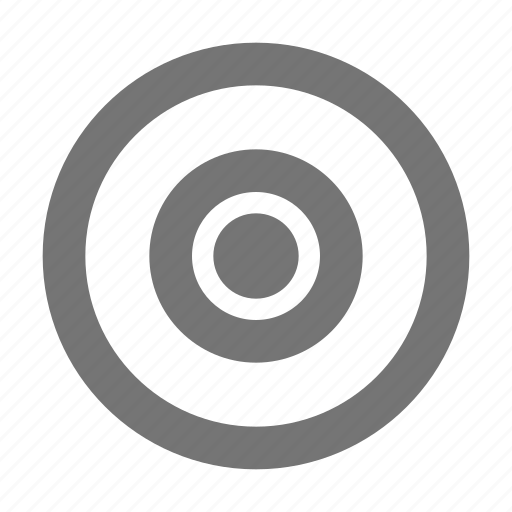 audio, bullseye, control, music, play, record, sound, target icon