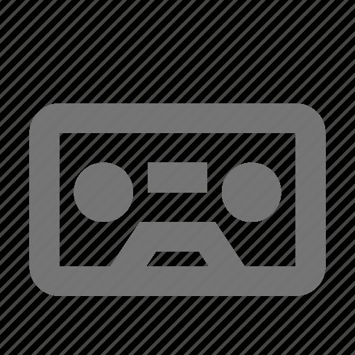 cassette, music, play, player, record, retro, tape icon