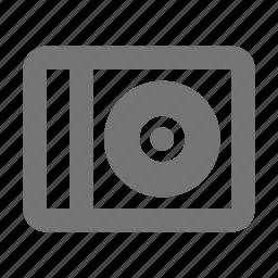 box, cd, media, music, play, retro, song, sound icon
