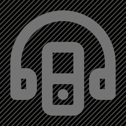 headphone, ipod icon