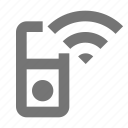 device, gadget, ipod, listen, music, play, remote, wireless icon