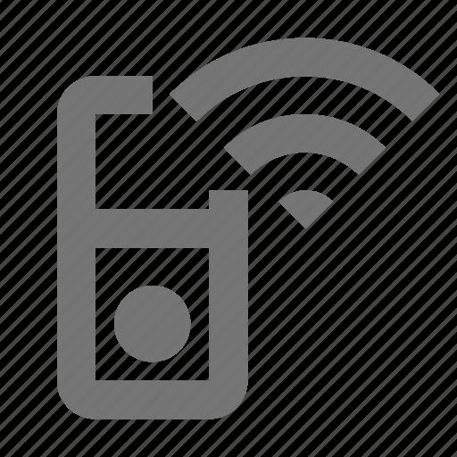 device, ipod, wireless icon