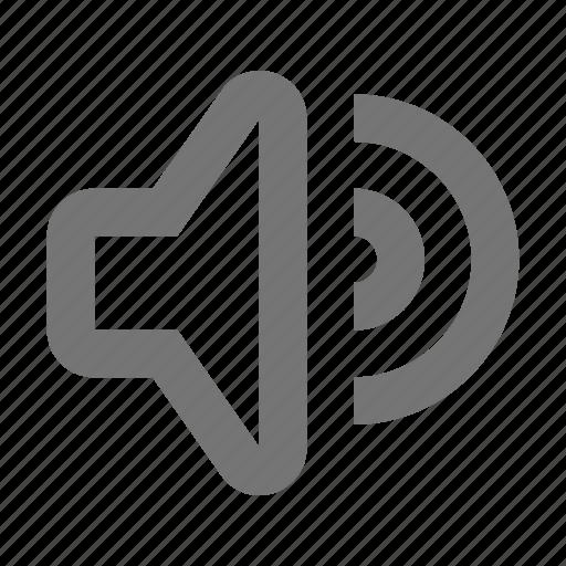 speaker, volume icon
