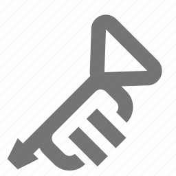 audio, equipment, instrument, music, play, song, trumpet icon