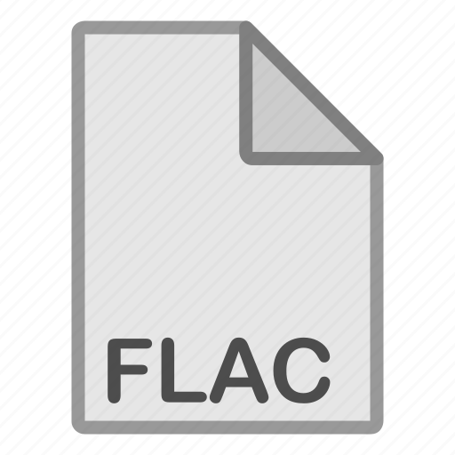 audio, extension, file, flac, format, hovytech, type icon