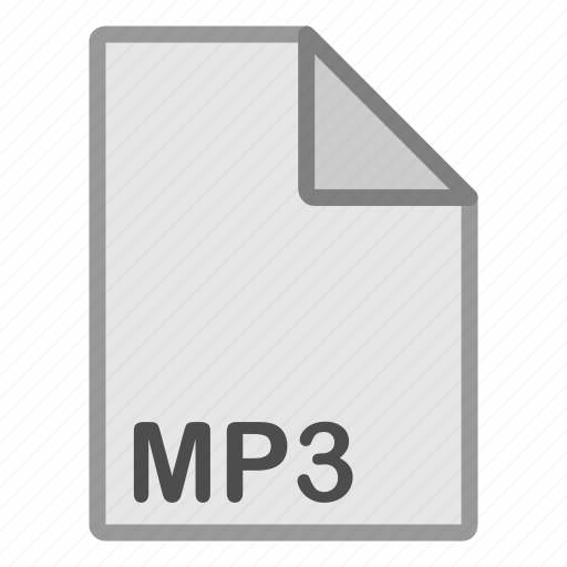 audio, extension, file, format, hovytech, mp3, type icon