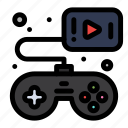 controller, game, gamepad, video