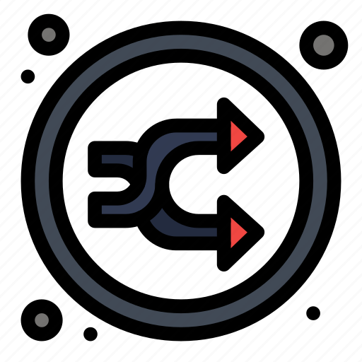 Arrow, mix, music, random, shuffle icon - Download on Iconfinder