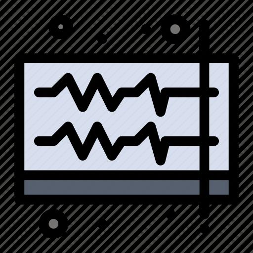 audio, music, sound, volume, wave icon