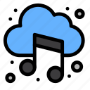 audio, cloud, music, sound