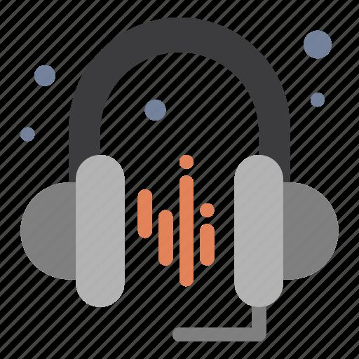 Headphone, music, sound icon - Download on Iconfinder