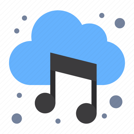 Audio, cloud, music, sound icon - Download on Iconfinder