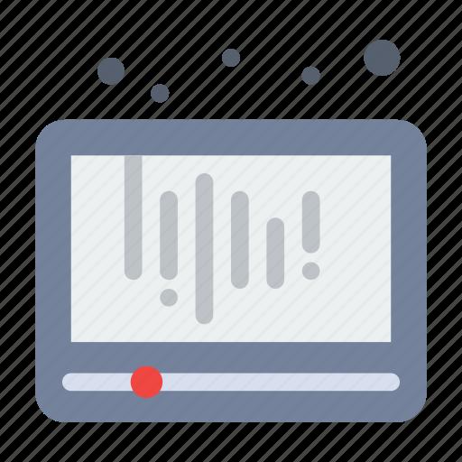 audio, media, play, social icon