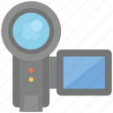 camcorder, device, electronic, recorder, video icon